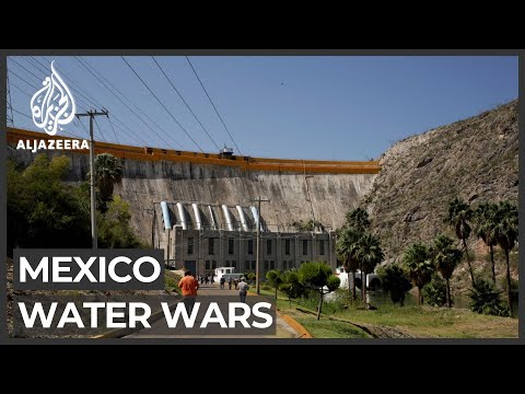 Mexican farmers seize control of dam near US border