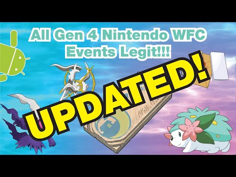 How To Get EVERY WI-FI EVENT In Generation 4 LEGIT!!! Part 2