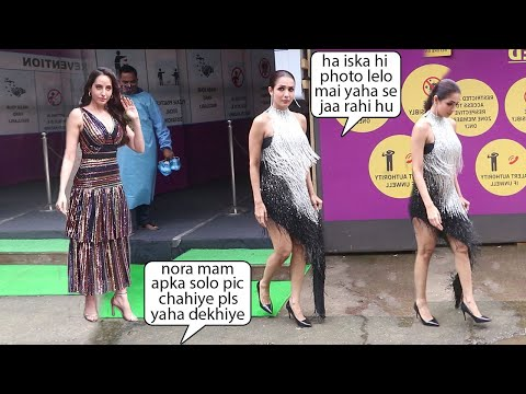 Malaika Arora's ANGRY Reaction As Nora Fatehi Getting More Media Attention On Dance Reality Show Set