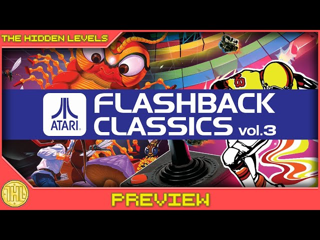 Atari Flashback Classics Vol 3 Gameplay Preview (Xbox One)