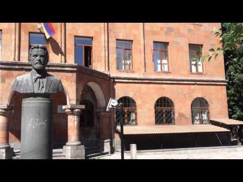 Школа имени Чехова в Ереване