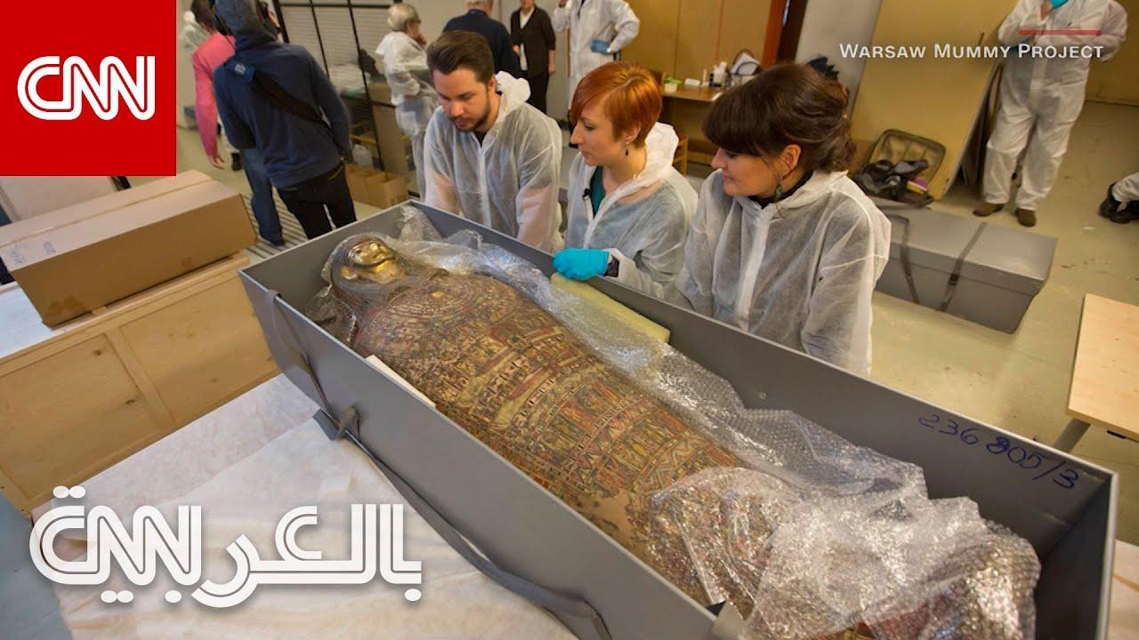 بعد العثور على قدم صغيرة في معدتها.. علماء يكتشفون أن مومياء مصرية لكاهن ذكر هي في الواقع امرأة حامل  - 14:58-2021 / 5 / 7