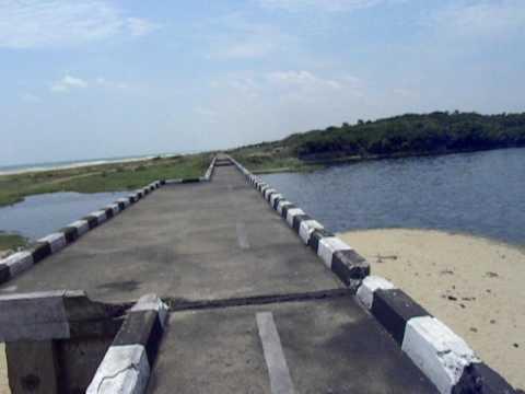 Adyar River, Elliot Beach, Chennai