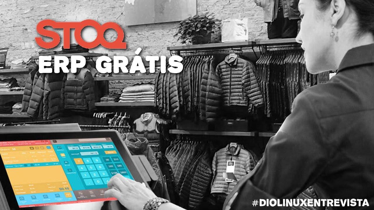Resultado de imagem para STOQ Gestão comercial com Linux Diolinux