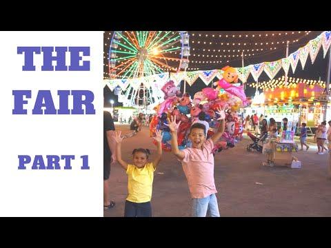 THE FAIR KIDS FUN part 1 Theme park rides | La feria Spain |  | Summer fun