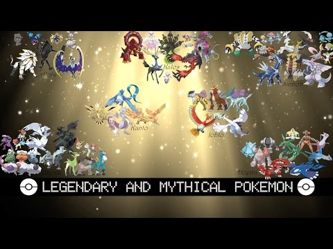 Legendary And Mythical Pokémon