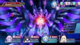 Mega Dimension Neptunia V II Demo Gameplay + Transformations & EXE