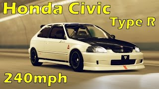 Forza Horizon 2 - Honda Civic Type-R 240mph Gameplay