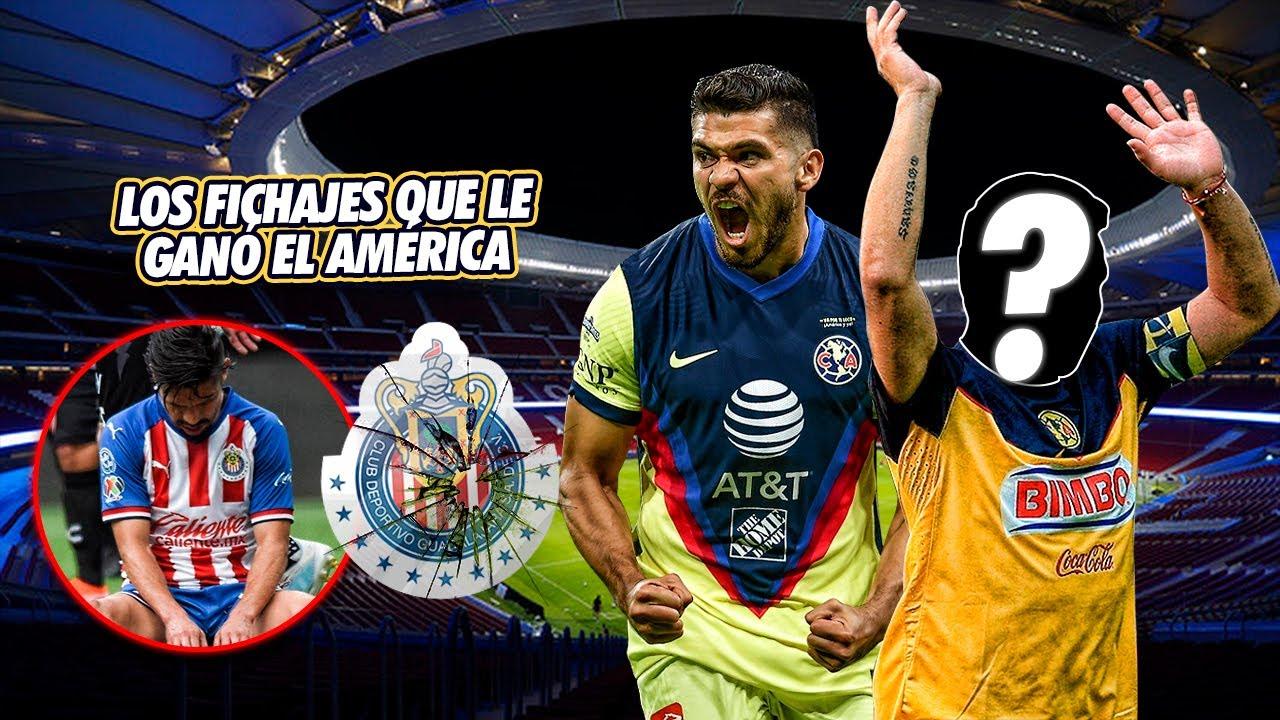 6 BOMBAZOS que el América LE ROBÓ a Chivas ¡El número uno TODAVÍA DUELE!