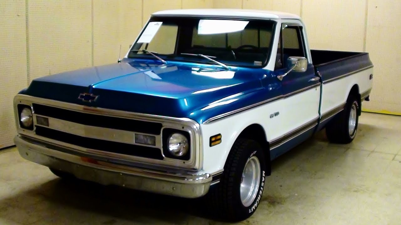 All Chevy 1969 chevy c10 for sale : 1969 Chevrolet C10 Pick-up - YouTube