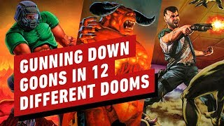 Gunning Down Goons in 12 Different Doom Games - QuakeCon Europe