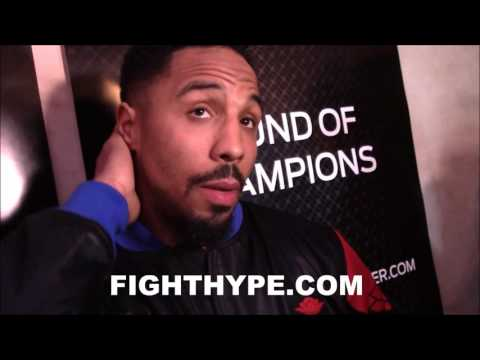 ANDRE WARD EYES KNOCKOUT OF SERGEY KOVALEV; TALKS GAME PLAN AND VOWS TO LEAVE NO DOUBT IN REMATCH