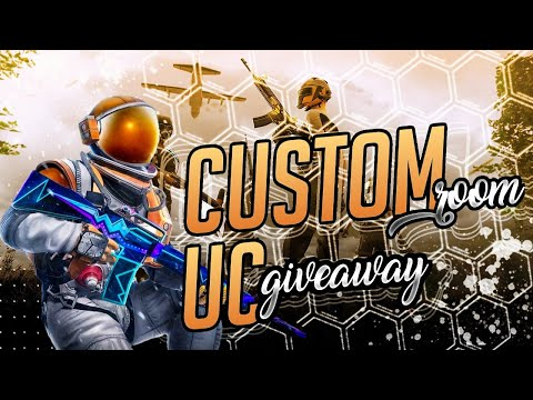 PUBG MOBILE LIVE CUSTOM ROOMS   FREE UC AND PAYTM GIVEAWAY SUBSCRIBE AND JOIN.