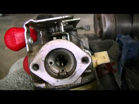 Carb Problems On My Craftsman Mower Please Help Youtube