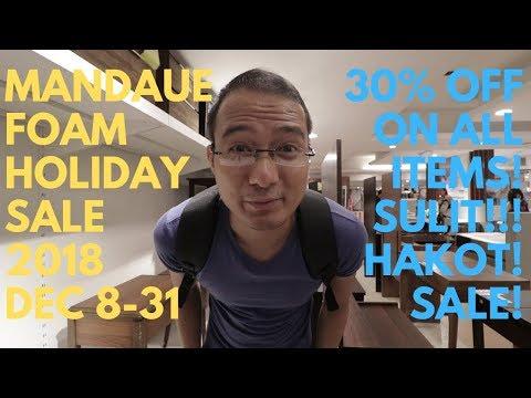 SULIT SALE!!! Mandaue Foam Holiday Sale 2018