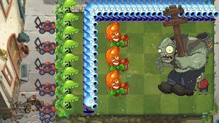 Plants vs Zombies 2 - Snap Pea, Hot Date and Shadow Peashooter