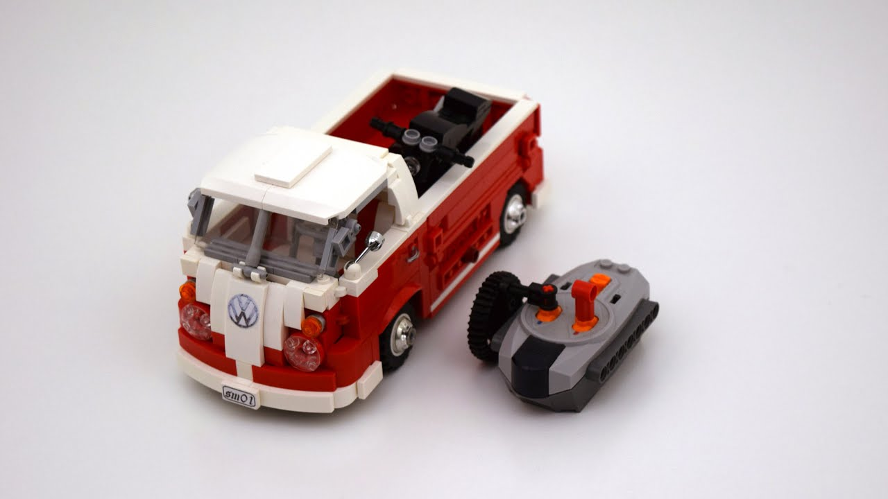 lego smallest rc vw t1 pick up moc youtube. Black Bedroom Furniture Sets. Home Design Ideas
