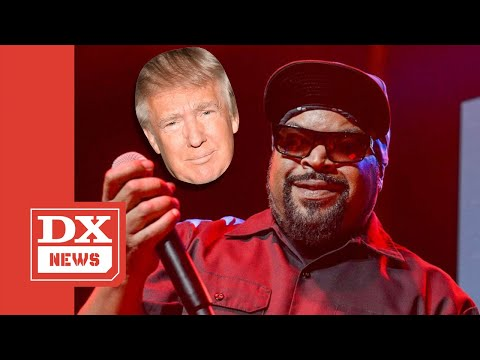 Ice Cube Shoots Down The Notion He 'Endorsed' Donald Trump