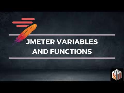 JMeter Variables And Functions