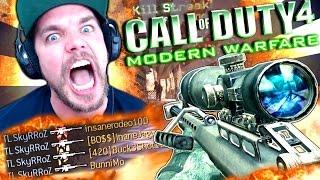 LA QUADFEED QUI PASSE CREME !! - COD4: Modern Warfare