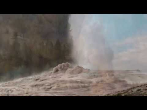 Yellowstone VOLCANO LATEST Geysers ROCKS and steam thermal activity INCREASES