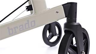 Produktvideo zu Leichtgewicht-Rollator Dietz Brado Perlweiß