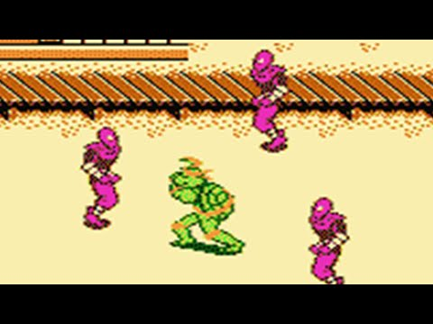 TMNT 3 - The Manhattan Project (NES) Full Walkthrough (No Death)