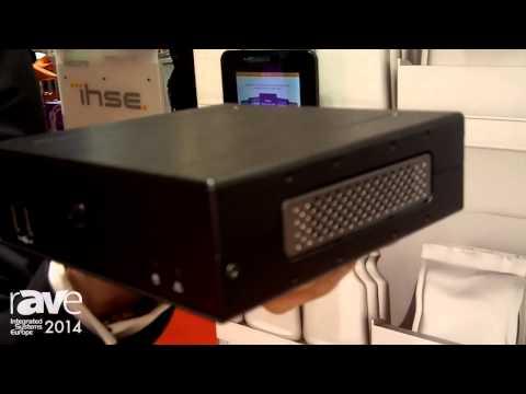 ISE 2014: AOPEN Exhibits DE7200 Digital Media Player