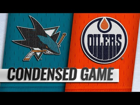 02/09/19 Condensed Game: Sharks @ Oilers