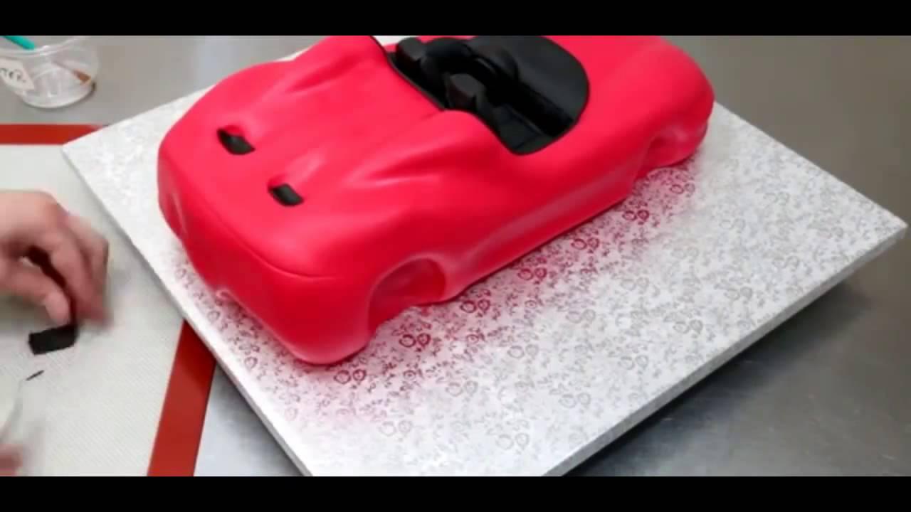 Ferrari car cake youtube ferrari car cake baditri Gallery