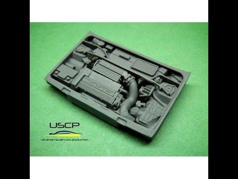 Unboxing: USCP Lancia Delta HF Integrale Engine kit