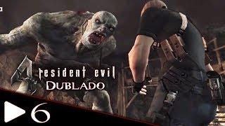 RESIDENT EVIL 4 DUBLADO EM PORTUGUÊS #6 El Gigante (Versão Gráficamente Melhorada) PC GAMEPLAY