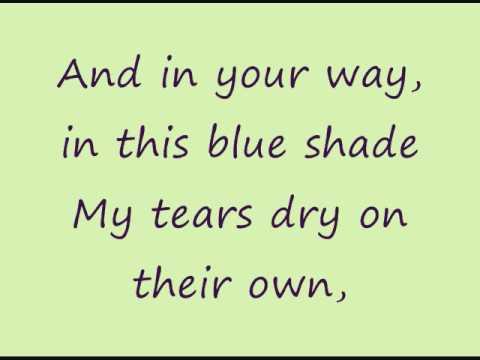 Tears Dry On Their Own-Amy Winehouse Lyrics - YouTube