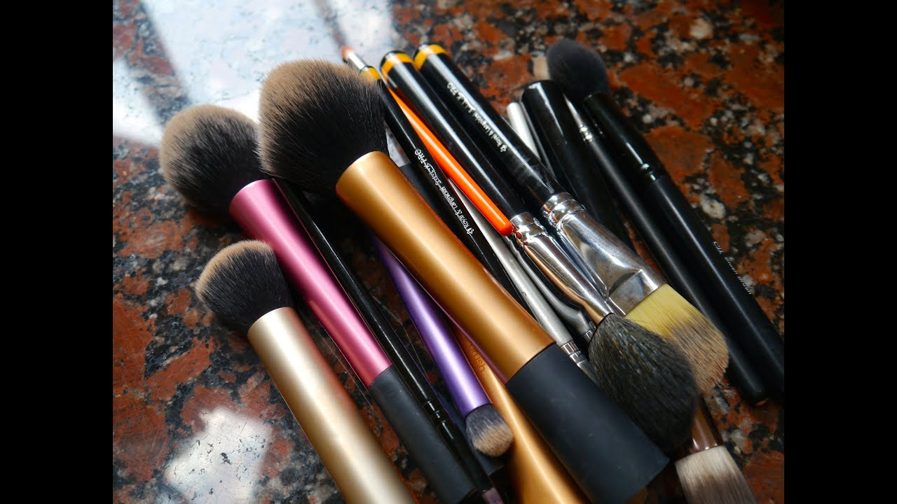 How To Clean Makeup Brushes At Home! | Kat Horrocks
