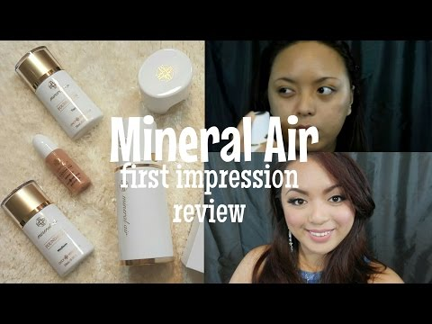 Mineral Air - Airbrush Foundation - First Impression Review | MaraiahCrystal