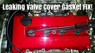 Infiniti G20,Nissan Altima And Sentra Valvle Cover Gasket Replacement