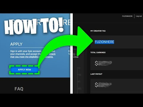 HOW TO GET A SUPPORT A CREATOR CODE ON FORTNITE *FAST!*