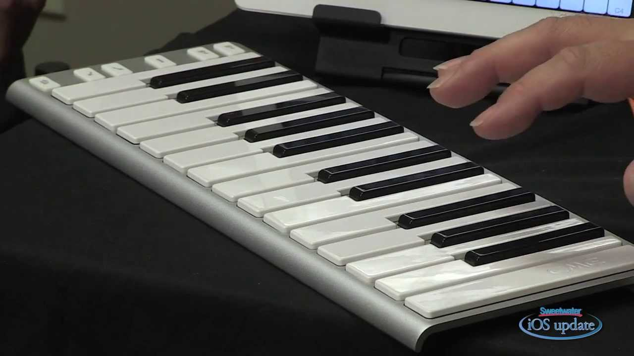 cme xkey portable keyboard controller demo sweetwater ios update vol 59 youtube. Black Bedroom Furniture Sets. Home Design Ideas