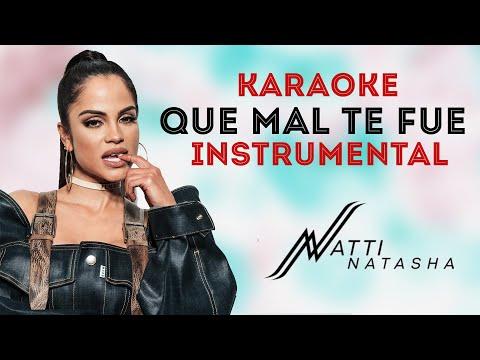 Natti Natasha – Que Mal Te Fue [Official Instrumental]