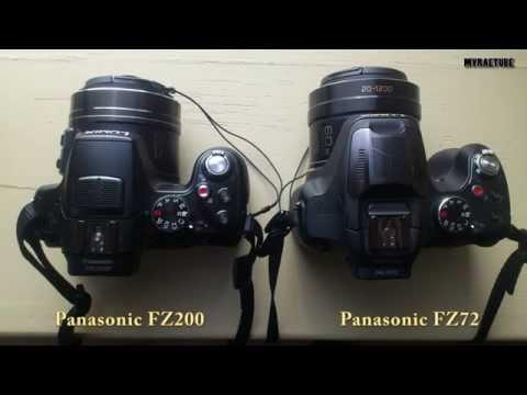 Zoom Test Panasonic FZ200 Vs FZ72