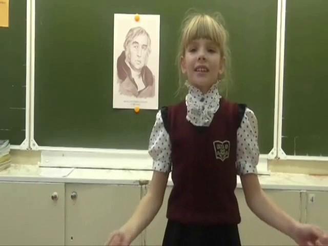 Изображение предпросмотра прочтения – ЕлизаветаДителева читает произведение «Ворона и Лисица» И.А.Крылова