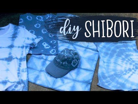 DIY Shibori Tie Dye Technique Tutorial (For Beginners)   Tie Dye Ideas   Dye-IY 🎨