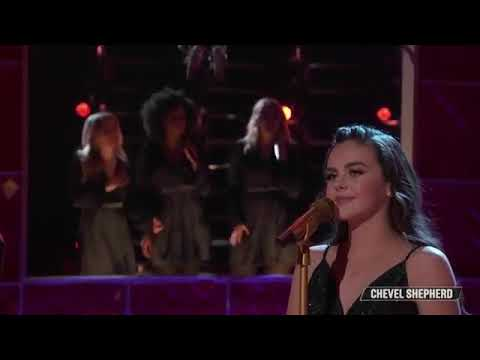"""Chevel Shepherd Performs A Stunning """"Blue"""" Cover - The Voice Live Semi-Final, Top 8 Performances"""