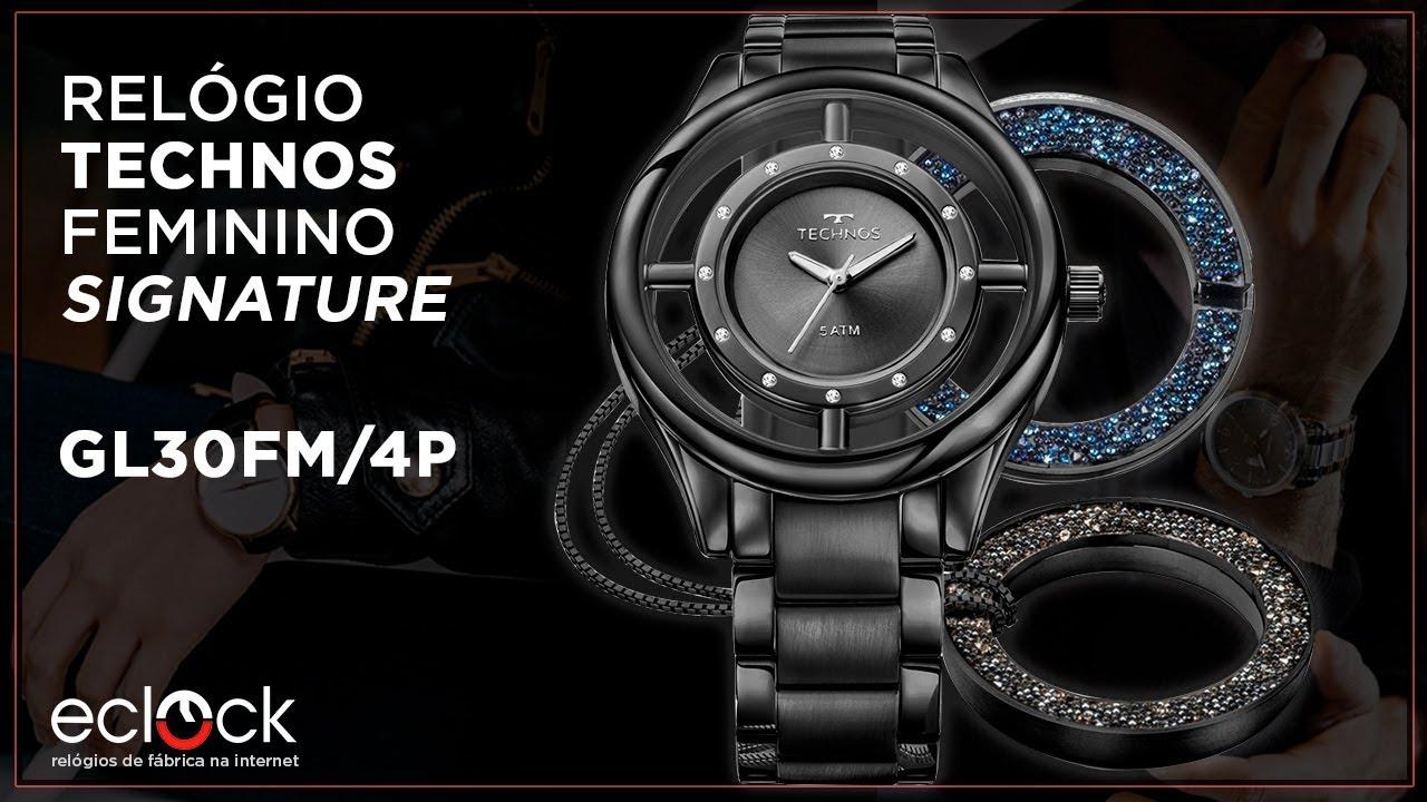 293a5f2425980 Relógio Technos Feminino Signature GL30FM 4P - Eclock. Eclock Relógios