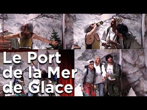 Le Port de la Mer de Glace Dominique Potard  Editions Paulsen Guérin Chamonix Mont-Blanc spectacle