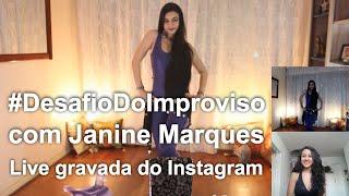 #DesafioDoImproviso - Live gravada | Aline Mesquita Dança do Ventre | Porto Alegre