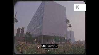 1990s LAPD Headquarters, Los Angeles Police, HD