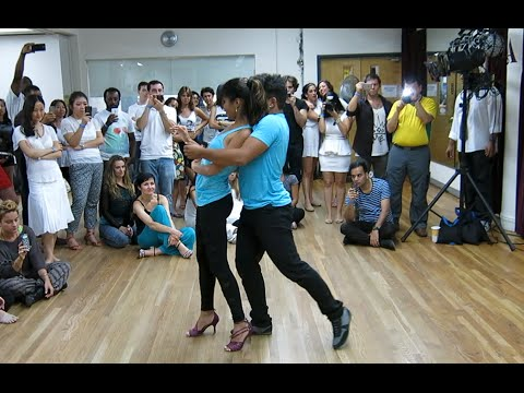 K-Yo Victor and Renata Rodrigues - Zouk Demo #1 at Fall for Zouk 2014