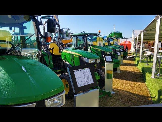 John Deere na wystawie Agro Show 2019
