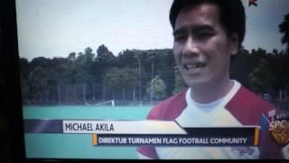 Liputan Kompas TV Indonesia Flag Football Association